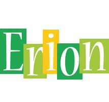 Erion lemonade logo