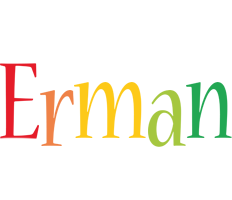 Erman birthday logo