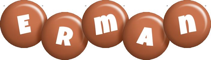 Erman candy-brown logo
