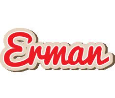 Erman chocolate logo