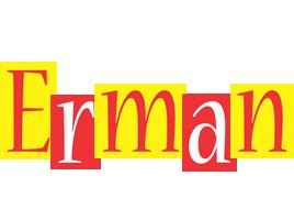 Erman errors logo