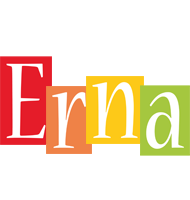 Erna colors logo