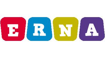 Erna daycare logo