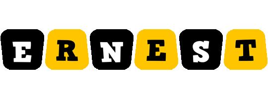 Ernest boots logo