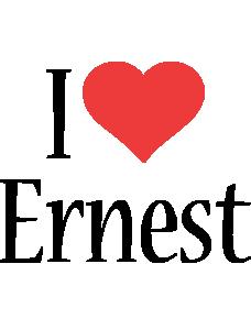 Ernest i-love logo