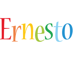Ernesto birthday logo