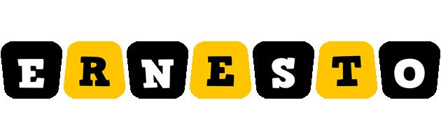 Ernesto boots logo