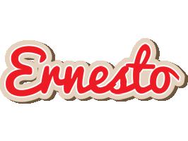 Ernesto chocolate logo