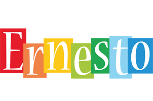 Ernesto colors logo