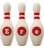 Ero bowling-pin logo