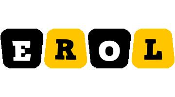 Erol boots logo