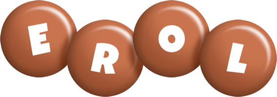 Erol candy-brown logo