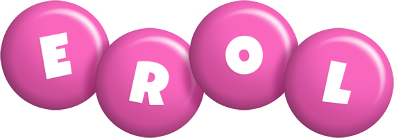Erol candy-pink logo