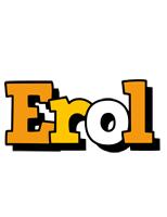 Erol cartoon logo