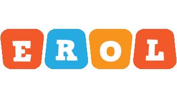 Erol comics logo