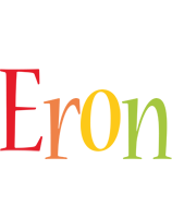 Eron birthday logo