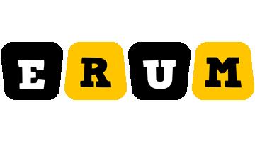 Erum boots logo
