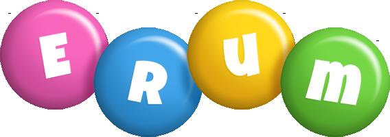 Erum candy logo
