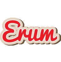 Erum chocolate logo