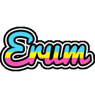 Erum circus logo