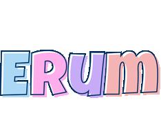 Erum pastel logo