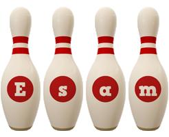 Esam bowling-pin logo