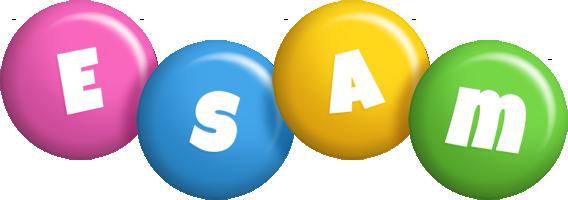 Esam candy logo