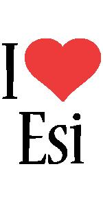 Esi i-love logo