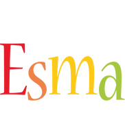 Esma birthday logo