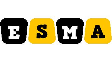 Esma boots logo