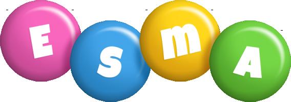 Esma candy logo