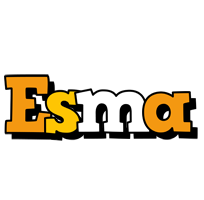 Esma cartoon logo