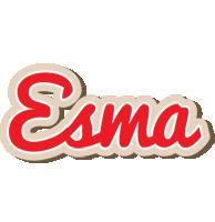 Esma chocolate logo