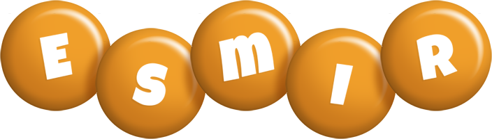 Esmir candy-orange logo
