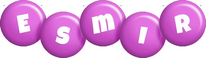 Esmir candy-purple logo