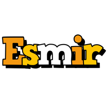 Esmir cartoon logo