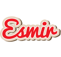 Esmir chocolate logo