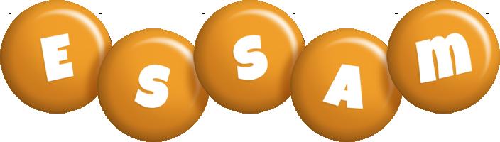 Essam candy-orange logo