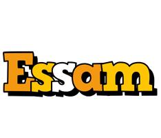 Essam cartoon logo