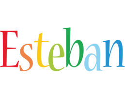 Esteban birthday logo