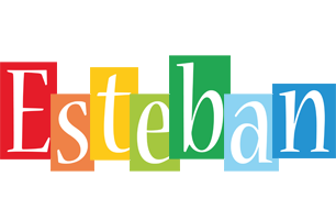 Esteban colors logo