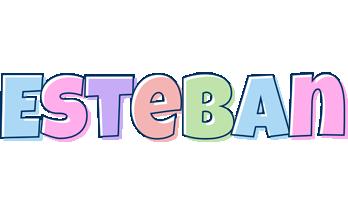 Esteban pastel logo