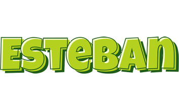 Esteban summer logo
