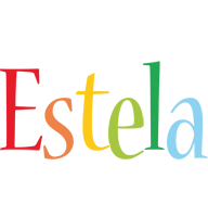 Estela birthday logo