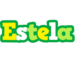 Estela soccer logo