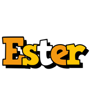 Ester cartoon logo