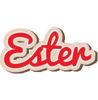 Ester chocolate logo