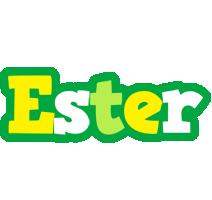 Ester soccer logo