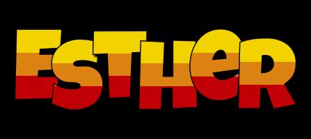 Esther jungle logo