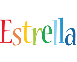 Estrella birthday logo